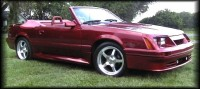 Highlight for Album: My Buddy Glenn's 85 Stang & Super Coupe's