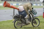 My Buddy Joel And His New Jet Bike.