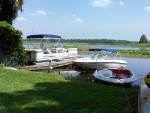 The Whole Fleet, Pontoon Boat, Speed Boat And The Jet Boat.  Fun In Every Way !