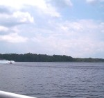 Halfway Around Into A 360 ... Right Now The Boat Is Sideways And Nose Down.