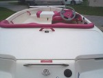 Engine Cover and Storage With Ski Ring.