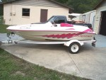 Highlight for Album: 2004 14 Foot Sea Ray, Sea Rayder Jet Boat.  ....