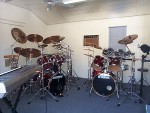 I Have Two Acoustic Kits And One Electronic Kit, You Need Two Sets To Play Music From Bands Like The Dobbie Brothers.
