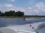 Just Another Riding The side, Get Up Some Good Speed To Jump The Wake !