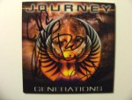 Autographed Journey CD,( By All The Band Members ).